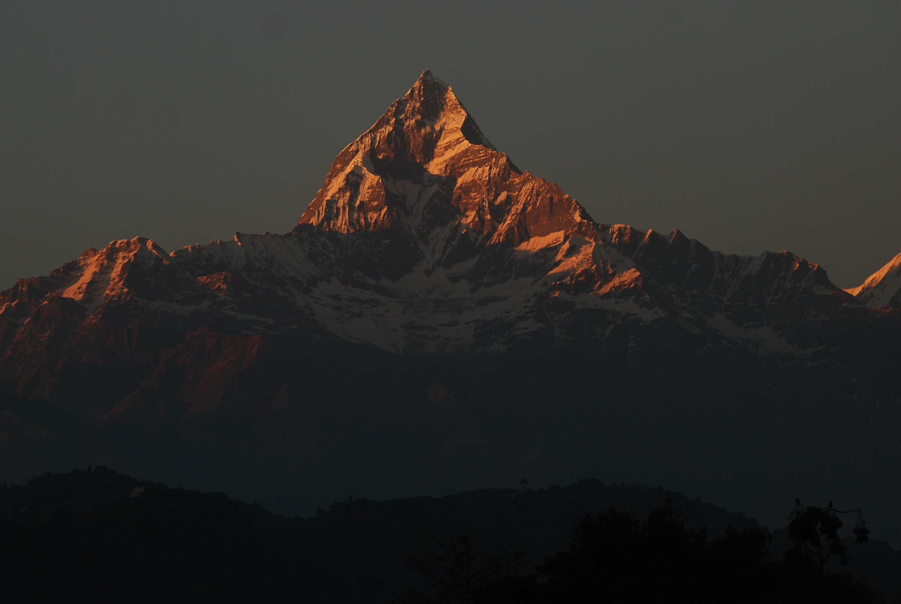 Mount Fishtail from Pokhara