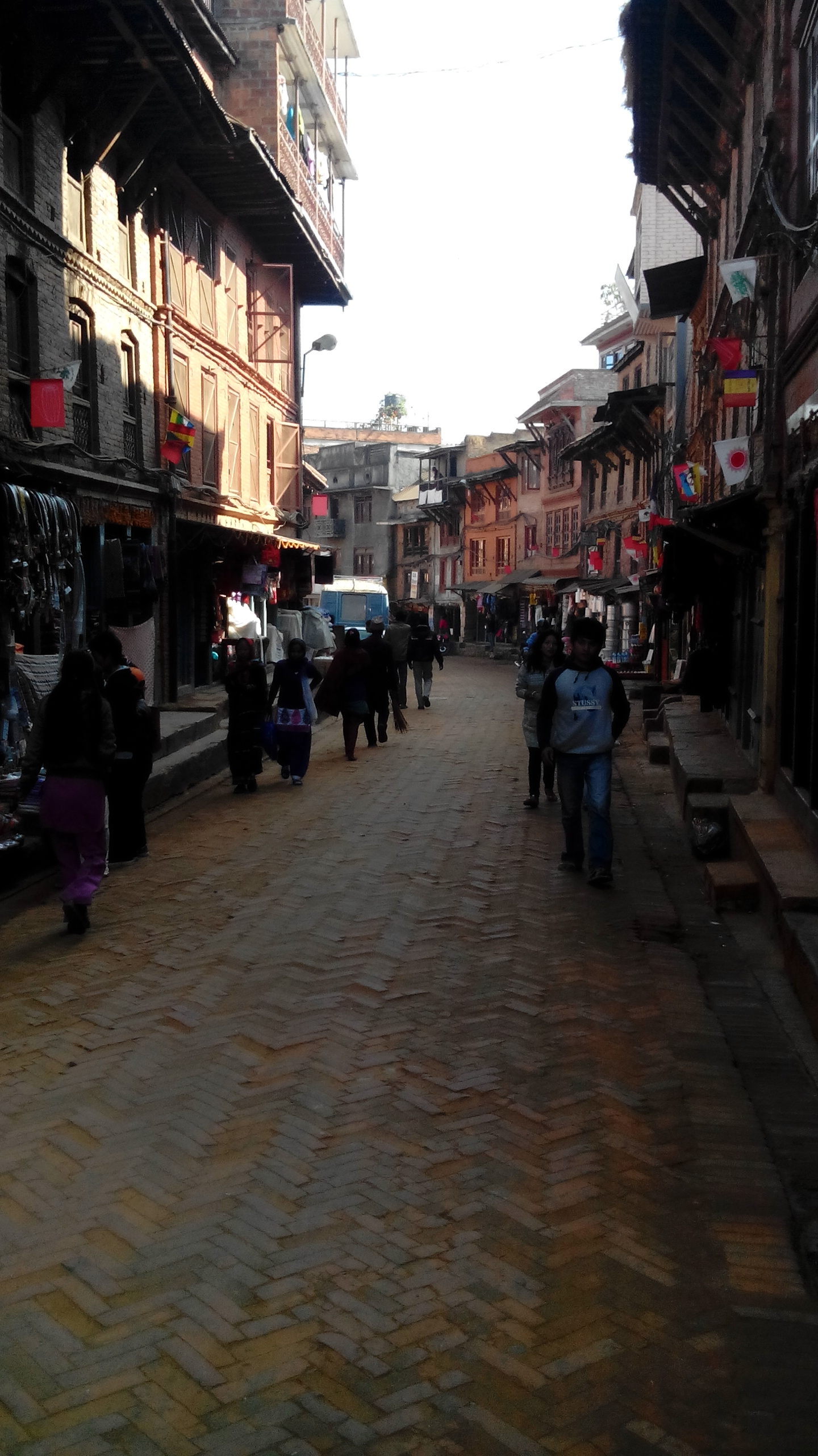 Walking around in Bhaktapur